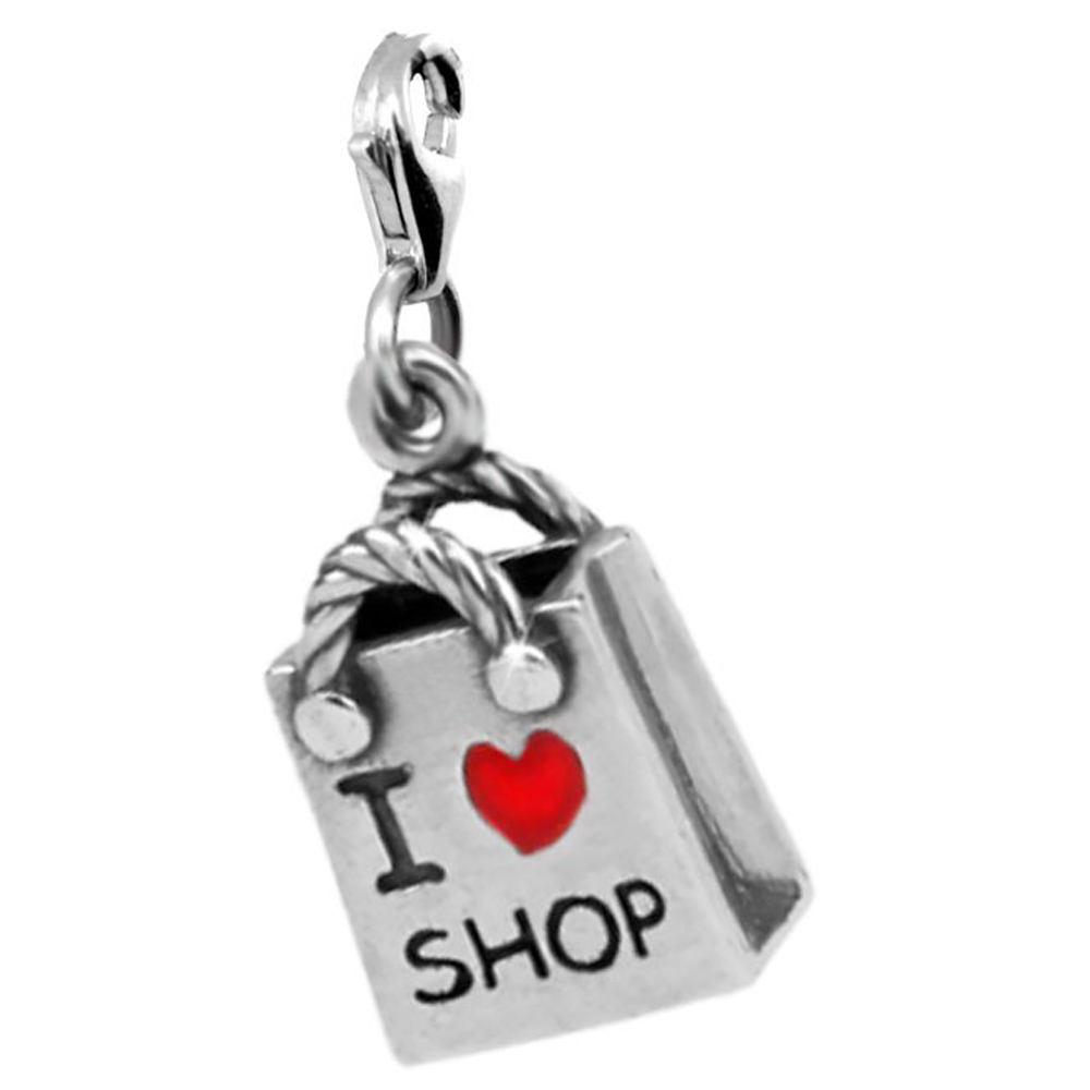 Шарм «Пакет I love shop» | LEDILE